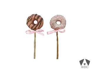 Unsere leckeren Donut Pops